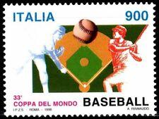SELLOS DEPORTES BEISBOL ITALIA. 1998 2317 1v.