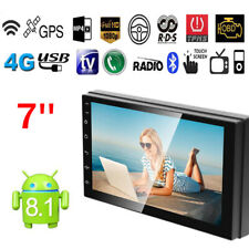 """7"""" 2Din 12V Touch Quad Core Android 8.1 Car Stereo MP5 Player GPS Navi Radio"""