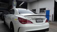 W117 carbon fiber spoiler CLA 200 250 AMG 45- bar wing revo piecha canard lip