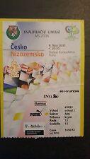 Sammler Used Ticket / Entrada Czech Republic v Holland 08-10-2005 World Cup 2006