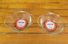 Vintage Fire-King Ovenware Ramekin Custard Cups with Original Labels NOS - NEW