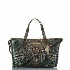 Brahmin Mini Asher Melbourne Agate Leather Bag shoulder Purse New