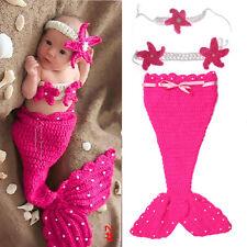 Hot! Newborn Baby Girls Boys Crochet Knit Costume Photo Photography Prop Outfits