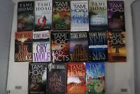 Lot of 16 Thriller Suspense Mystery Books by Tami Hoag -  PB