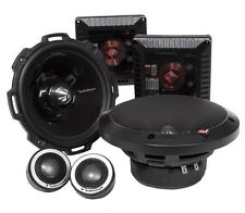 """ROCKFORD FOSGATE T2652-S 6.5"""" 200W RMS ALUMINUM COMPONENT SPEAKERS SYSTEM"""
