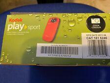 Kodak Play Sport 1080p Video Camera Model Zx5 Black NEW Open Box