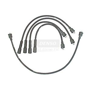 OE Replacement Ignition Wire Set   DENSO   671-4001