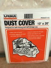 """DUST COVER 10""""X 20"""" BY U-HAUL (PROTECTS AGAINST SOIL, DUST & WATER DAMAGE)"""