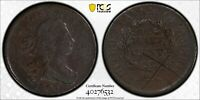 "1806 1/2C  DRAPED BUST HALF CENT ""SMALL 6 NO STEMS"" PCGS VF DETAILS  #40276532"