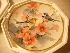 Springtime Serenade Carolyn Shores Wright Bluejay bird Collectibles Plate