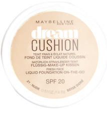 MAYBELLINE DREAM CUSHION LIQUID FOUNDATION ON-THE-GO SPF 20 SHADE 21 NUDE NEW