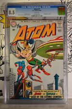 Atom #7 CGC 8.5 1st Hawkman Crossover Gil Kane Cover 1963