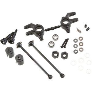 Tekno TKR6851X M6 Front Driveshaft/Steering Block 6mm Slash Stampede