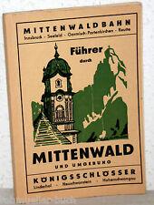 Mittenwaldbahn - FÜHRER durch MITTENWALD und Umgebung