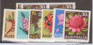A2399: (6) Australia #434-9 Mint, OG, NH; CV
