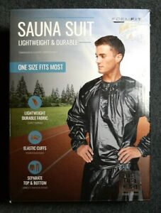 FORMFIT Sauna Suit One Size Fits Most, Black NEW IN BOX