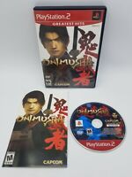 Onimusha: Warlords (Sony PlayStation 2, 2002) PS2 Complete CIB Tested