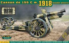 Ace 1/72 Cannon de 155 C m.1918 (Wooden Wheels) # 72544