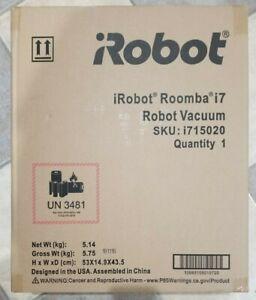 iRobot - Roomba i7 Wi-Fi Connected Robot Vacuum - I715020