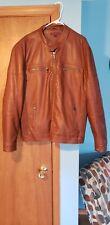 Men's Faux Leather Jacket size 2XL