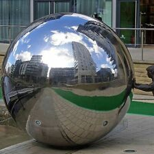 Stainless Steel Sphere for Garden or Interior Decor Mirror Hollow Ball for Home