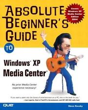Absolute Beginner's Guide to Windows XP Media Center-ExLibrary