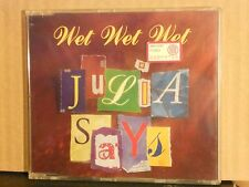 WET WET WET - JULIA SAYES - IT'S O NOW OR NEVER (o sole mio ) - I DON'T WANT TO