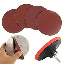 """Welcomefee 12Pcs 5"""" Sanding Discs Pad Kit for Drill Grinder Rotary Tools with..."""