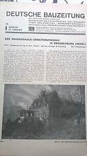 1928 6 Brandenburghavel Krankenhaus / Stadttor Monheim 2
