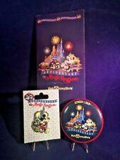 The Magic Kingdom 45th Anniversary Logo Pin  - Map - Button Pin 118367