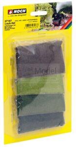 NOCH 07167 - Set 4 sacchetti di fogliame verde di varie tonalità.