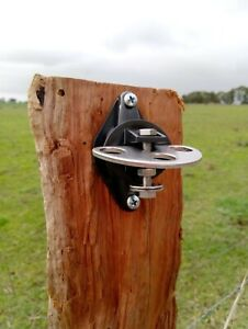 Electric Fence 3 Way Post Insulator Gate Latch Stainless Steel High Quality