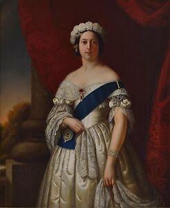Queen Victoria Queen of England Melville 1845 6x5 Inch Print 74