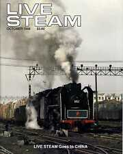 Live Steam V22 N10 October 1988 Live Steam Goes to China