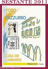 ITALIA MAXIMUM MAXI CARD 2003 L'ORO L'AZZURRO COLORI DEL SUD CèZANNE BONNARD A82