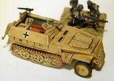 "SHQ GV131 1/76 Diecast WWII German 250/1 ""Neu Arte"" (Late) Half-track 1943-45"