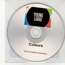 (DV482) Young Liars, Colours - 2012 DJ CD