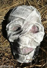 "mummy plastic mold plaster mold cement mould 7"" x 4"" x 2"" Hallowen concrete mold"