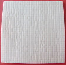 3D DOUBLE SIDED ADHESIVE FOAM SQUARE PADS 3MMX3MMX2MM THICK PAPER TOLE DECOUPAGE