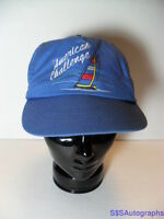1970s AMERICAN CHALLENGE SAILING RACING BOAT YACHT RACE SNAPBACK ADVERTISING HAT