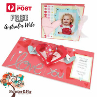 Sizzix Hearts Die - 3-D Pop-Up Card - Valentine's Day Card, Hearts, Bigz Die