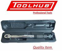 "Tool Hub 9453 1/4"" Square Drive Torque Wrench Micrometer 2-24Nm/18-212in./lb."