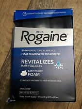 Rogaine Men's Hair Regrowth Treatment Foam - 2.11 Oz. 08/2020