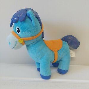 Disney Sparky Horse Sheriff Callie's Wild West Plush Soft  Toy  Blue