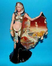BRADFORD EXCHANGE ornament figurine 'Cleopatra' goddess of the nile 1st Q +CERT
