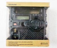Etón FR360B Solarlink Self-Powered Digital AM/FM/NOAA Radio with Solar Power