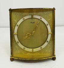 mid century design - Edle mechanische Tischuhr Kienzle Wecker Uhr Messing 60er
