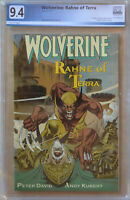 WOLVERINE: RAHNE OF TERRA #1 (1991 | Marvel) PGX 9.4 (NM) Like CGC - White Pages