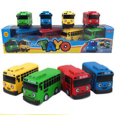 Hot 4 pcs Cars Toy The Little Bus TAYO Friends Mini Set Tayo Rogi Gani Rani Gift