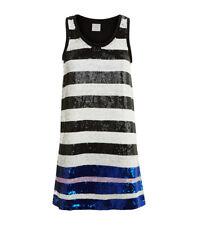 BNWT PINKO MATISSE STRIPED SEQUINNED  DRESS SIZE UK 10 12 IT 42 RRP £255
